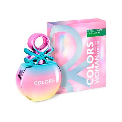 Colors Woman Holo Eau de Toilette Benetton - Perfume Feminino