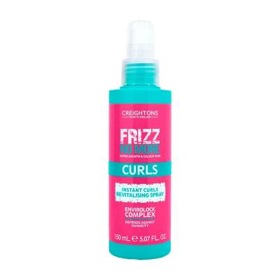 Frizz No More Curls Revitalising Spray Creightons  - Protetor Térmico
