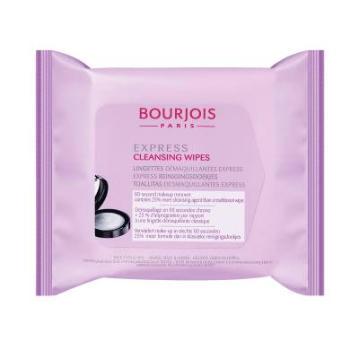 Express Cleansing Wipes Bourjois - Lenços Demaquilantes