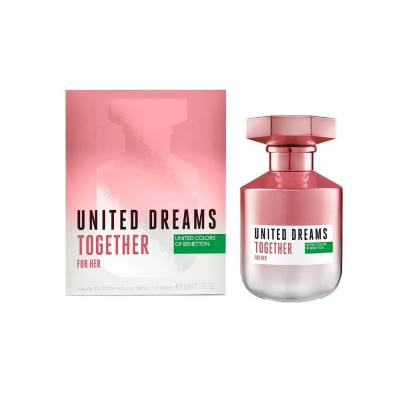 United Dreams Together Eau de Toilette Benetton - Perfume Feminino